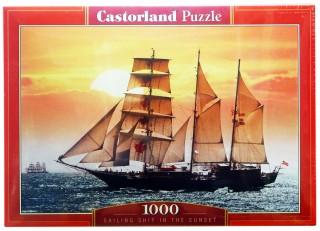 Пазл Парусник на закате 1000 элементов Castorland