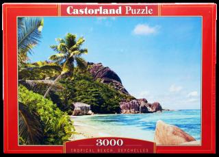 Пазл Пляж Сейшелы 3000 элементов Castorland