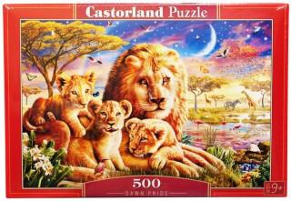 Пазл Семья львов 500 элементов Castorland