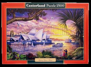 Пазл Оперный театр Сидней 1500 элементов Castorland