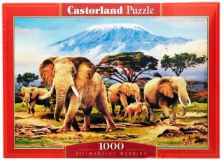 Пазл Слоны 1000 элементов Castorland