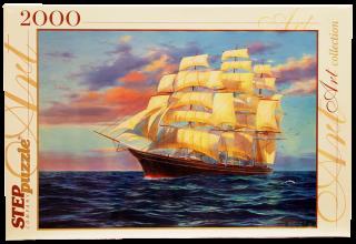 Пазл Снова в море 2000 элементов Step Puzzle