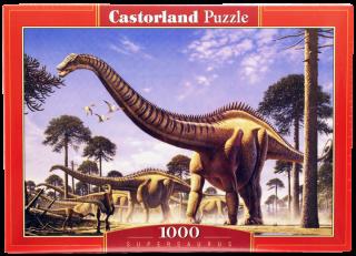 Пазл Динозавры 1000 элементов Castorland