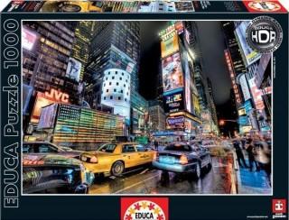 Пазл Таймс Сквер, Нью-Йорк HDR Educa