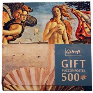 Пазл Рождение Венеры - подарочный 500 элементов Trefl