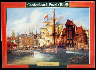 Пазл Старый Гданьск 1000 элементов Castorland