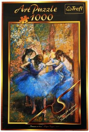 Пазл Голубые танцовщицы 1000 элементов Trefl