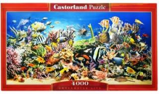 Пазл Подводный мир 4000 элементов Castorland