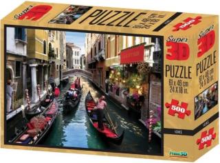 Пазл Super 3D Венеция 500 деталей