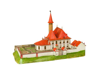 Приоратский дворец Россия конец XVIII века Гатчина