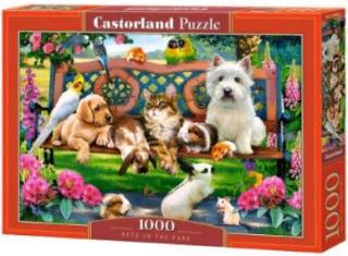Домашние животные в парке 1000 элементов