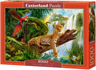 Отдыхающий леопард 1000 элементов