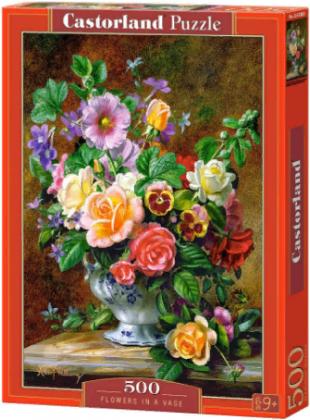 Пазл «Цветы в вазе» 500 элементов