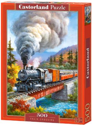 Пазл «Железнодорожный переезд» 500 элементов