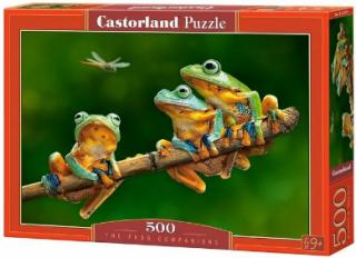 Пазл «Лягушки» 500 элементов