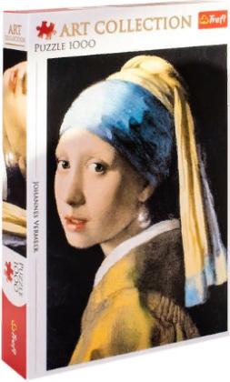 Пазл «Девушка в жемчужных сережках» 1000 элементов