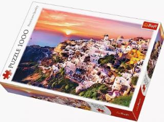 Пазл «Закат над Санторини» 1000 элементов