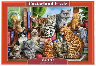 Пазл «Дом кошек» 2000 элементов