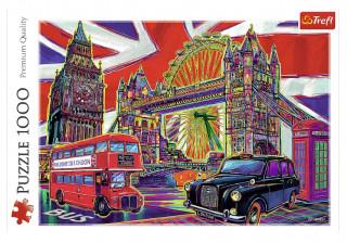 Пазл «Краски Лондона» 1000 элементов