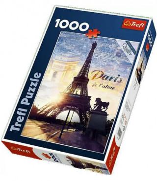 Пазл «Париж на рассвете» 1000 элементов
