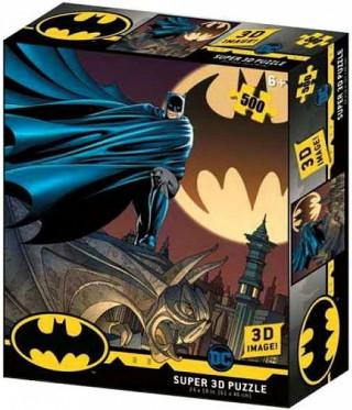 Пазл Super 3D Знак Бэтмена 500 элементов