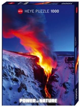 Пазл Извержение вулкана Power of Nature 1000 деталей
