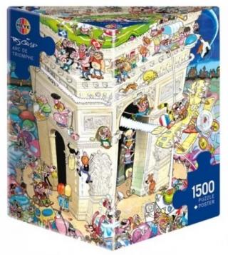 Пазл Триумфальная арка 1500 деталей