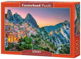Пазл Рассвет над Кастельмедзано Италия 1500 элементов Castorland
