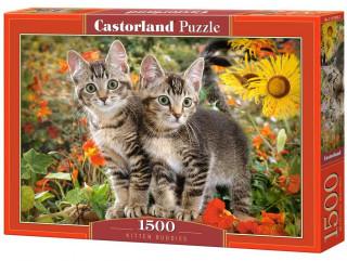 Пазл Приятели котята 1500 элементов Castorland
