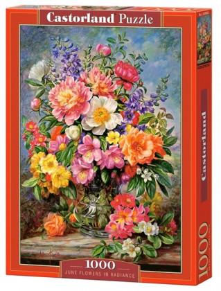 Пазл Цветы 1000 элементов Castorland