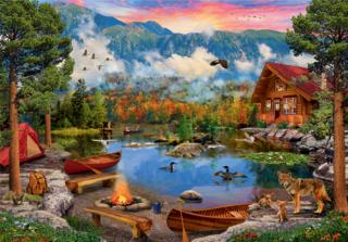 Пазл «Горное озеро» 2000 элементов