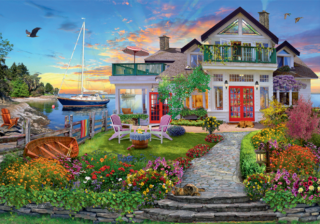 Пазл «Дом на берегу залива» 3000 элементов