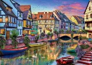 Пазл «Канал Кольмар. Франция» 3000 элементов