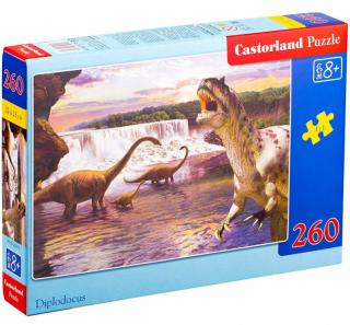 Пазл «Динозавры» 260 элементов