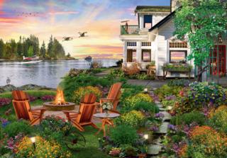 Пазл «Дом у реки» 4000 элементов