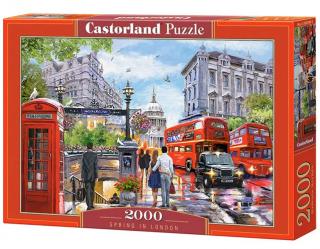 Пазл «Весна в Лондоне» 2000 элементов