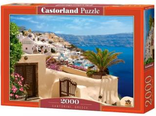 Пазл «Санторини Греция» 2000 элементов