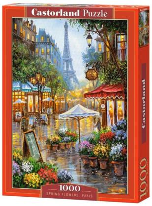 Пазл «Весенние цветы. Париж» 1000 элементов
