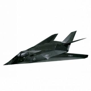 Модель Самолет F-117 Умная бумага