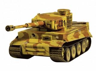 Модель Танк Tiger Умная бумага