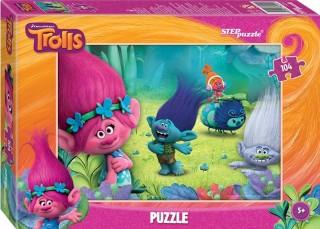 Пазл Trolls 104 элемента Step Puzzle