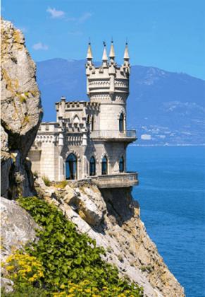 Пазл Ласточкино гнездо 1500 элементов Castorland