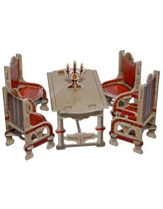 Набор мебели Столовая Умная бумага