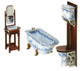 Коллекционный набор мебели Ванная комната Умная бумага