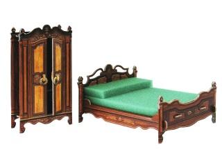 Коллекционный набор мебели Спальня Умная бумага