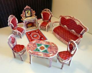 Набор мебели Гостиная (Умная Бумага) Умная бумага