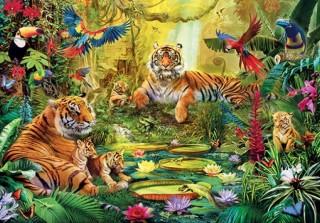 Пазл В джунглях 3000 элементов Step Puzzle
