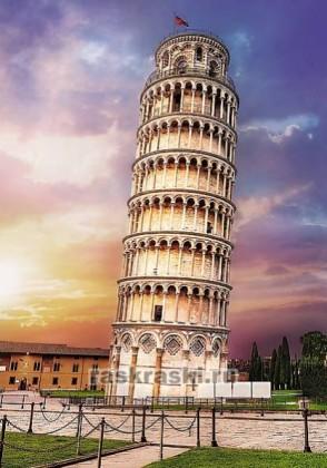 Пазл Пизанская башня 1000 элементов Trefl