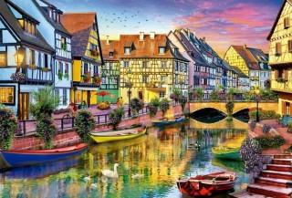 Пазл Канал Кольмар, Франция 4000 элементов Educa