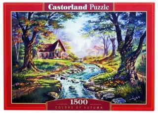 Пазл Цвета осени 1500 элементов Castorland